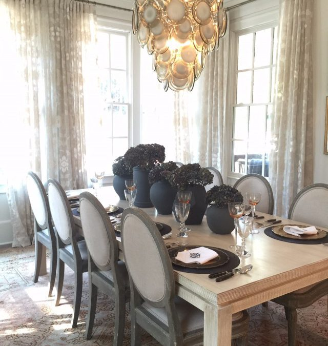 A Showhouse Kitchen & Dining Room