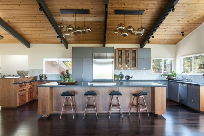Step Inside this Stunning Modern Zen Kitchen