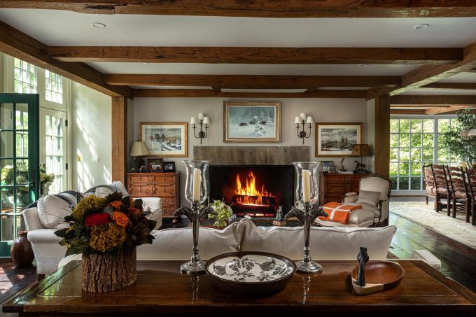 luxury estates, equestrian style design, luxury interior design, horse farms, upstate new york horse farms, luxury kitchens, kitchen design